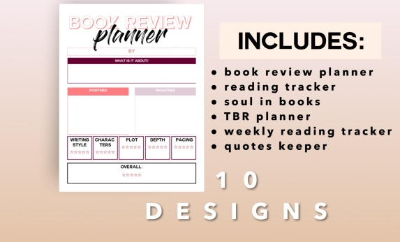 book review planner